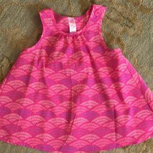 Cherokee Girls Size 18 M Pink Swing Beautiful Top